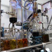 CBD processing and testing equipment